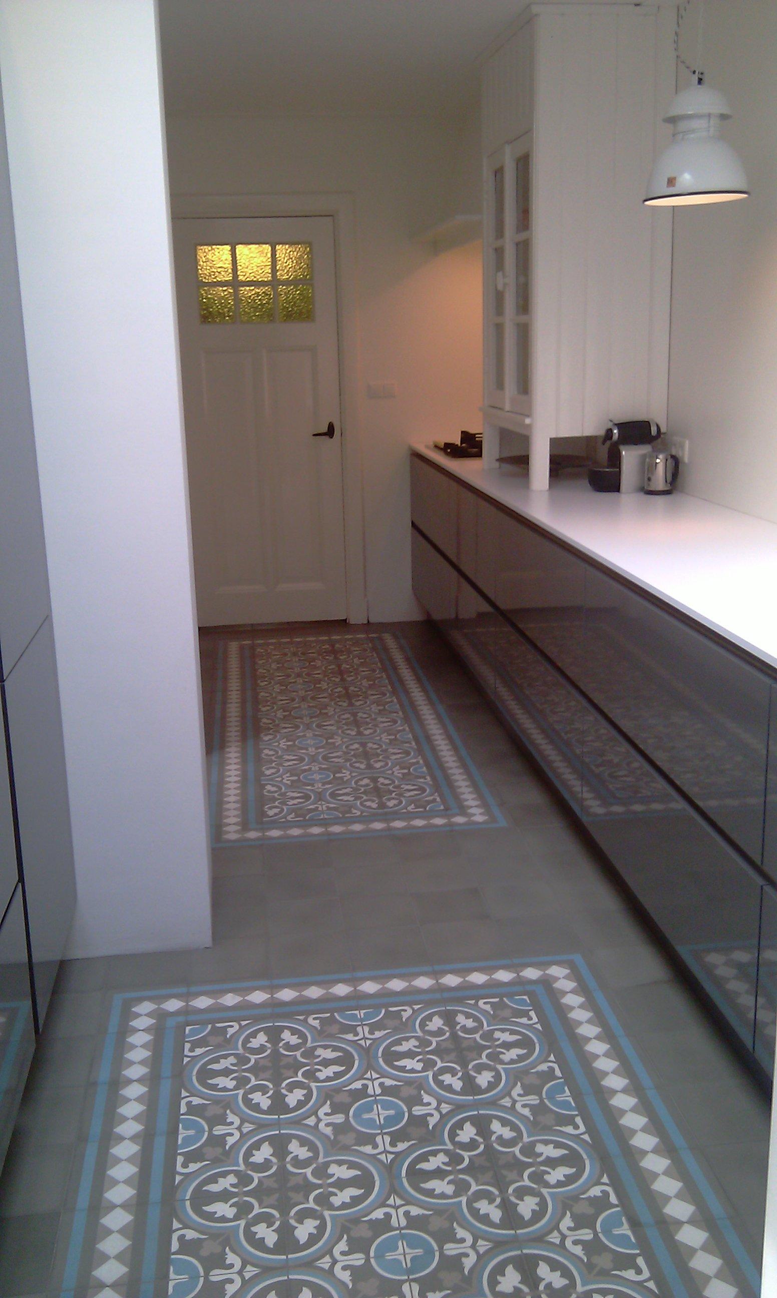 De tegel hilversum eigen kleurcombinatie - Tegel patroon badkamer ...